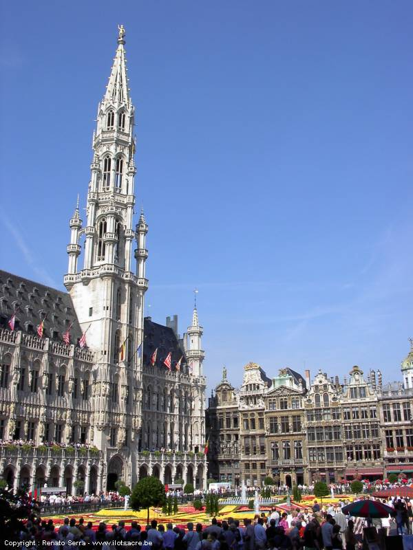 BRUSSELS : map of Brussels, photos of Brussels city centre, virtual ...