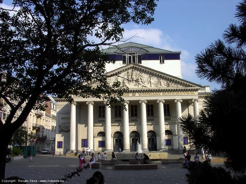 Théâtre de la Monnaie à  Bruxelles Monnaie